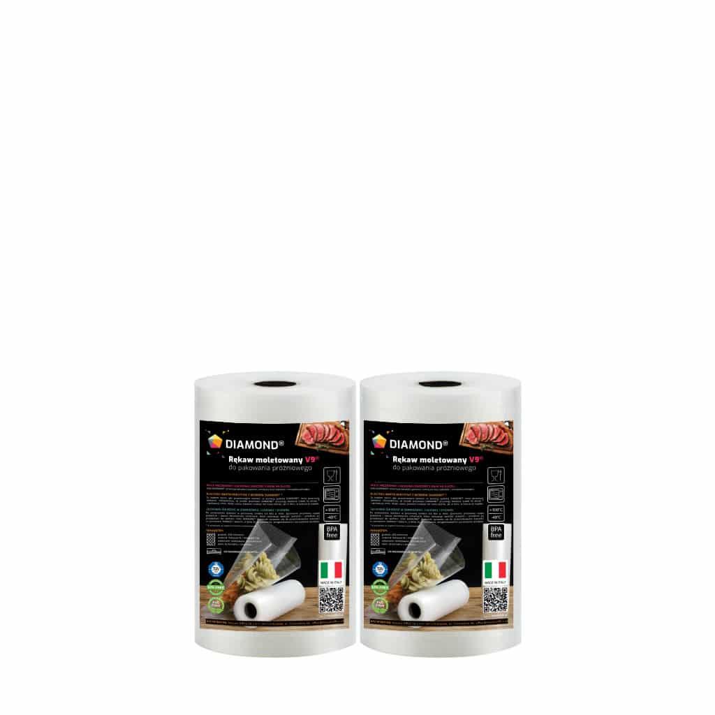 Rękaw moletowany DIAMOND® 30x600 cm (pakiet)